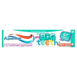 Aquafresh Big Teeth Toothpaste 50Ml