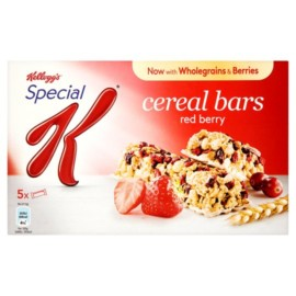 Kelloggs Special K Red Berry Cereal Bars 5 Pack 21.5G