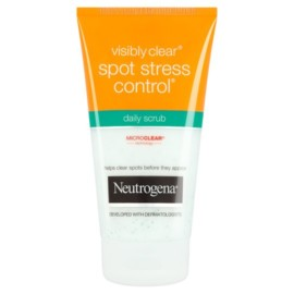 Neutrogena Visibly Clear Spot Stress Control Daily Scrub 150Ml