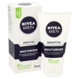 Nivea For Men Extra Soothing Sensitive Moisturiser 75Ml