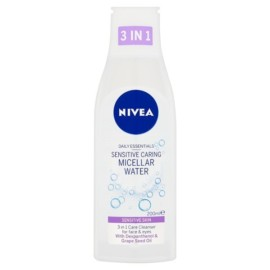 NIVEA Daily Essentials 3 in 1 Sensitive Caring Micellar Water 200ml