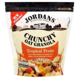 Jordans Crunchy Tropical Cereal 750G