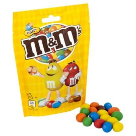 M&Ms Peanut Bag 165G