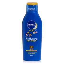 Nivea Sun Moisturising Lotion kids Spf30 200ml