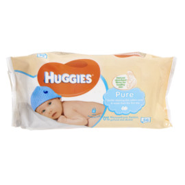 Huggies Baby Wipes Natural Care 56
