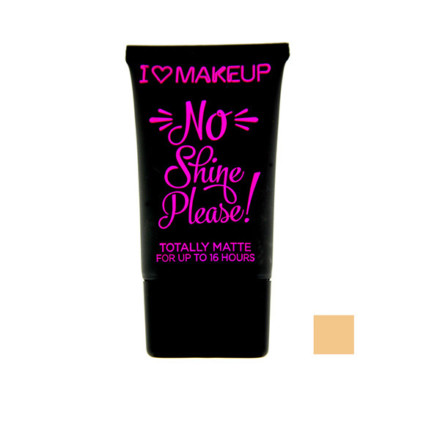 I Heart Foundationation No Shine Please 01 30ml