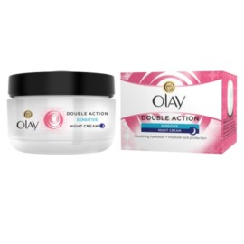 Olay Double Action Moisturiser Night Cream Sensitive 50Ml