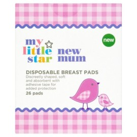 My Little Star New Mum Disposable Breast Pads x 26