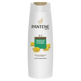 Pantene Smooth And Sleek 2 In 1 400Ml