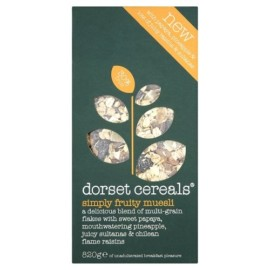 Dorset Cereals Simply Fruity Muesli 820g