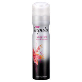 Impulse Body Spray Very Pink 75ml