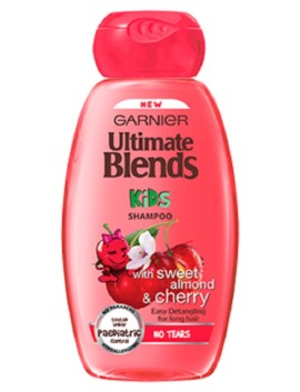 Garnier Ultimate Blends Kids Cherry & Almond Shampoo 250ml