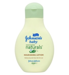 Johnson's baby Naturals Nourishing Lotion 250ml
