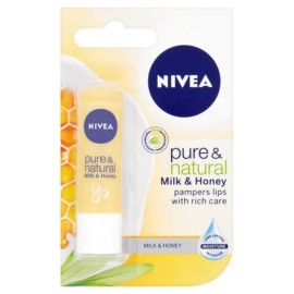 Nivea Pure & Natural Lip Balm 4.8g