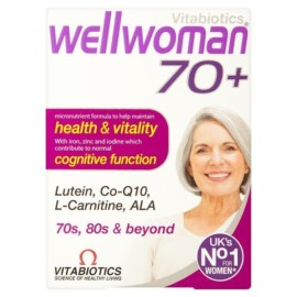 Vitabiotics Wellwoman 70+ Tablets 30