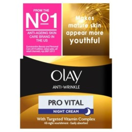 Olay Anti Wrinkle Pro Vital Night Moisturiser Cream 50ml