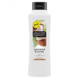 ALBERTO BALSAM – CONDITIONER – COCONUT & LYCHEE – FOR ALL HAIR TYPES – 350ML