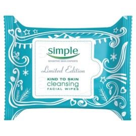 Simple Limited Edition Cleansing Facial Wipes X25