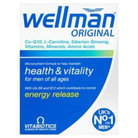 Vitabiotics Wellman  original 30 Tablets