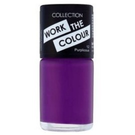 Collection Work the Colour Nail Polish – 12 Purplicious