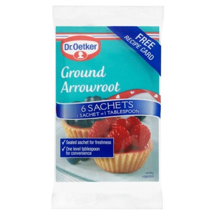 Dr Oetker Ground Arrowroot Sachets