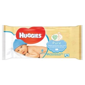 Huggies Baby Wipes Pure 56