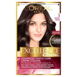 L'Oreal Paris Excellence 3 Natural Darkest Brown