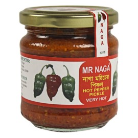 Mr Naga Hot Pepper Pickle 190g