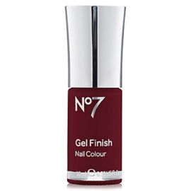 Boots No7 Gel Finish Deep Wine