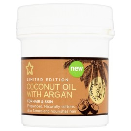 Superdrug Coconut Oil with Argan Oil 125ml