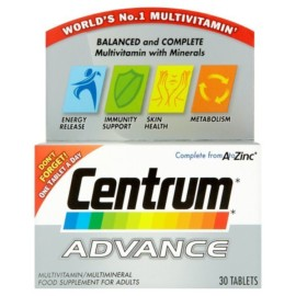 Centrum Multimineral Vitamins Tablets x 30