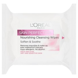 L'Oreal Paris Skin Perfection Nourishing Cleansing Wipes