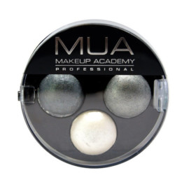 MUA Trio Eyeshadow – Smoke Screen