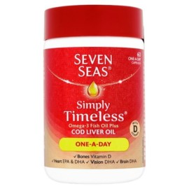 Seven Seas Cod Liver Oil One a Day 60 Capsules