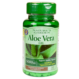 Good n Natural Aloe Vera 200 Tablets 5000mg