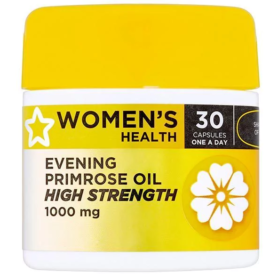 Superdrug Women Evening Primrose Oil 1000mg Capsules x 30
