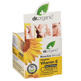 Dr Organic Vitamin E Cream 50ml