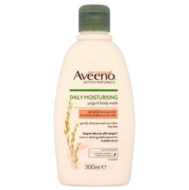 Aveeno Daily Moisturising Yogurt Apricot Body Wash 300ml