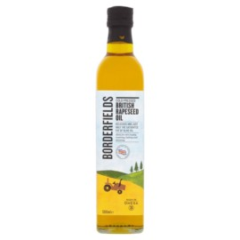Borderfields Cold Pressed British Rapeseed Oil 500ml
