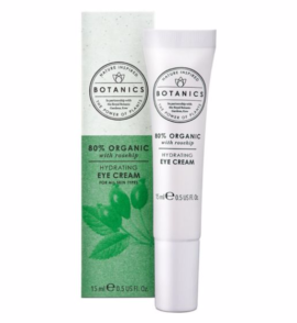 Botanics Organic Hydrating Eye Cream 80% Organic 15ml