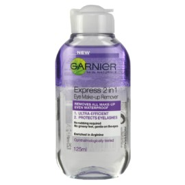 Garnier Express 2 in 1 Eye Make-up Remover 125 ml