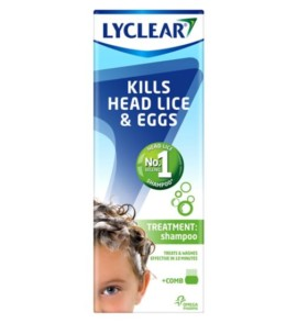 Lyclear Treatment Shampoo & Comb 200ml