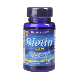 Holland & Barrett Biotin 100 Tablets 300ug