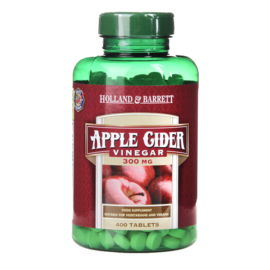 Holland & Barrett Apple Cider Vinegar 400 Tablets 300mg