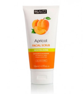 Beauty Formulas Apricot Revitalising Facial Scrub 150ml