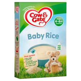 Cow & Gate First Spoonfuls Pure Baby Rice from 4-6m onwards 100g