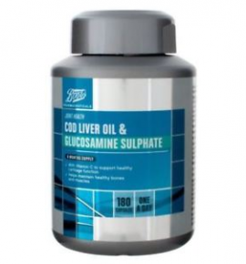 Boots Cod Liver Oil & Glucosamine Sulphate 6 Month Supply 180 Capsules Read more