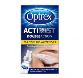Optrex Actimist Double Action for Itchy & Watery Eyes – 10ml