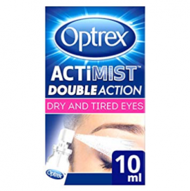 Optrex Actimist Double Action for Dry & Tired Eyes – 10ml