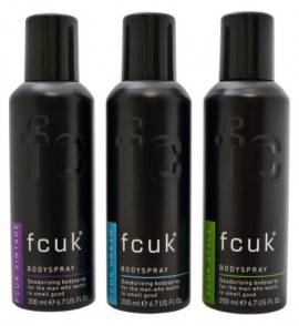 Boots Fcuk Men's Bodyspray Trio Gift Set